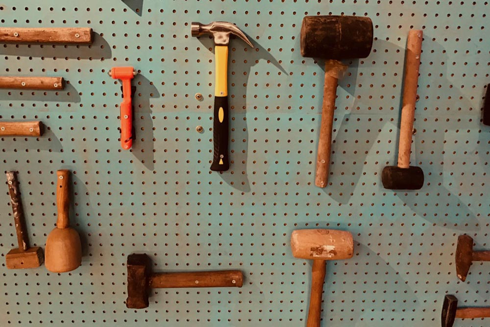 Perfectionisme - gebruik eens wat anders dan een hamer
