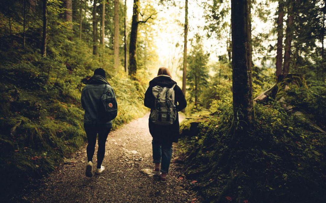 wandelen verlaagt stressniveau